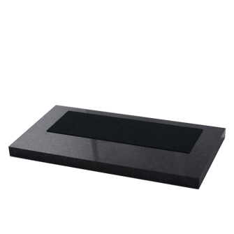 7 inch Black Granite Base