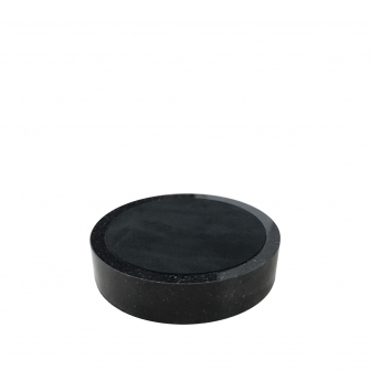 3.5 inch Round Black Granite Base