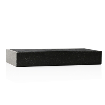 3.5 x 8.5 inch Black Granite Base